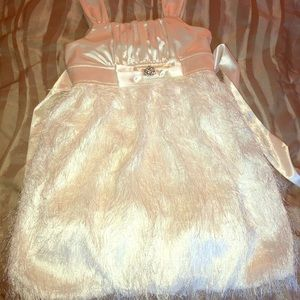 White Ruby Rox Girl's Formal Dress